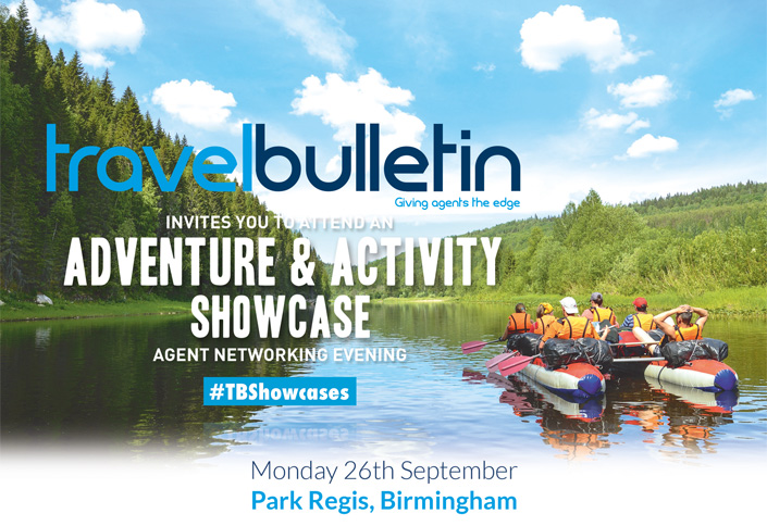 Adventure & Activity Holidays Showcase 26th September Birmingham