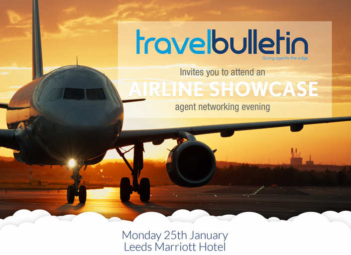 Airline Showcase - Monday 25th January