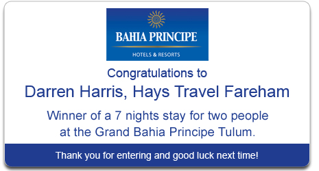 Bahia Principe Competition Winner