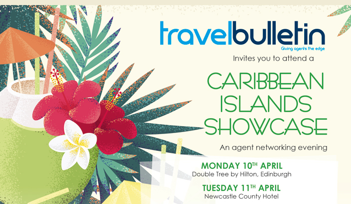 Caribbean Islands Showcase Monday 10th April Edinburgh
