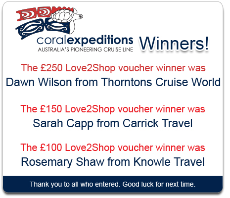 Coral Expeditions Competition Winner