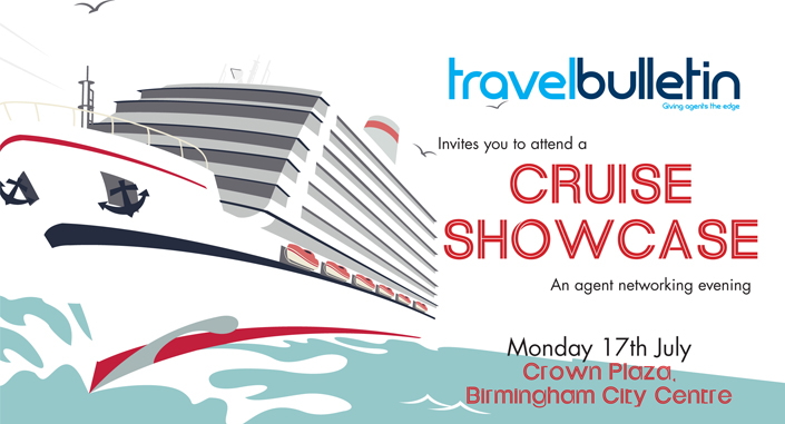 Cruise Showcase - Monday 17th July, Birmingham