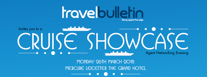 Cruise Showcase - Monday, 26th March Leicester