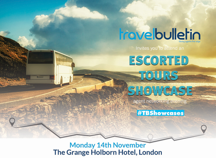 Escorted Tours Showcase 14th November London