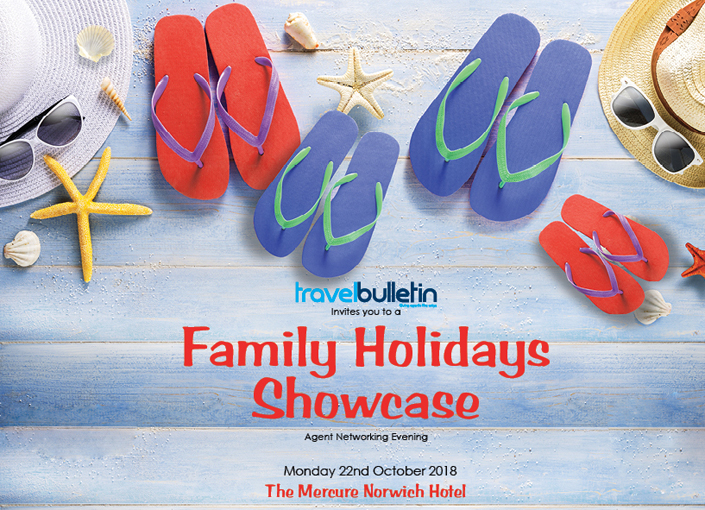 Family Holidays Showcase - Monday, 22nd October Norwich