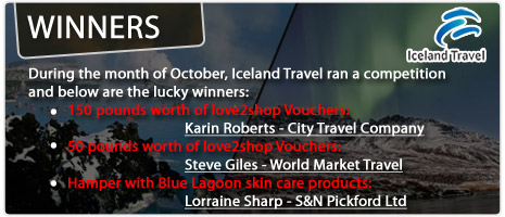 Iceland Competition Winners
