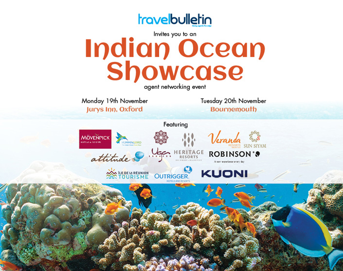 Indian Ocean Showcases - Monday, 19th November Oxford