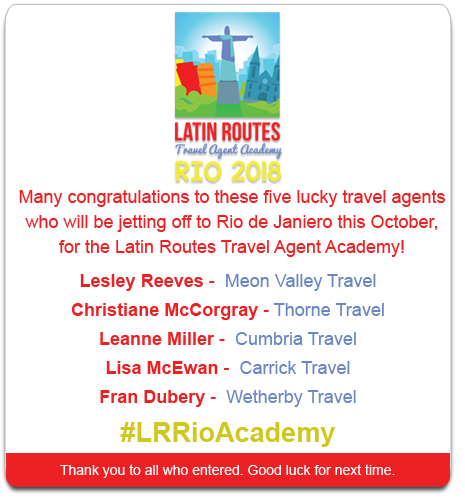 Latin Routes Competition Winner