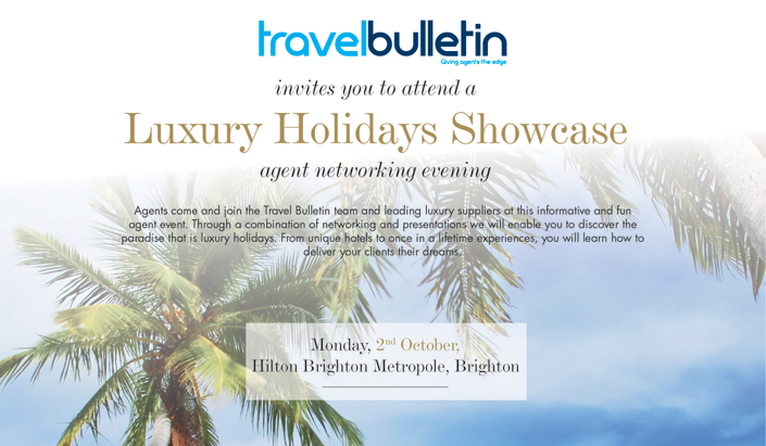 Luxury Showcase - Monday, 2nd October Brighton