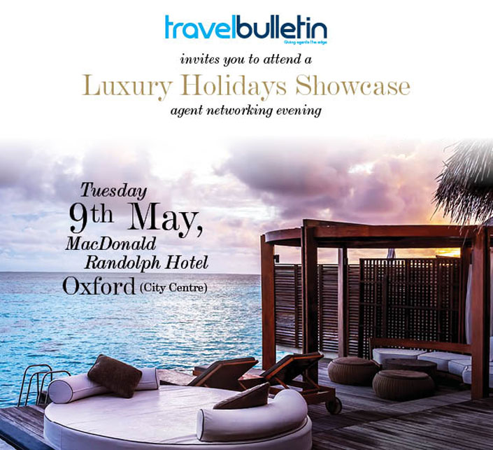 Luxury Showcase 9th May Oxford