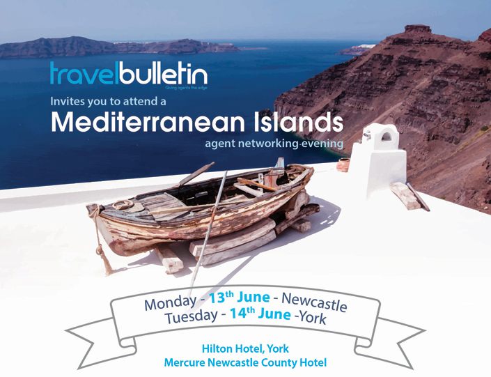 Mediterranean Islands Showcase 13th June 2016 Newcastle