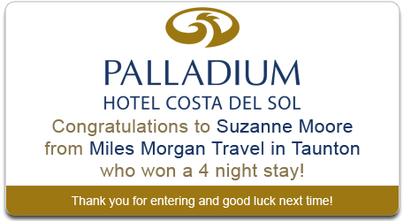 Palladium Costa Competition Winnerr