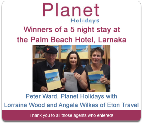 Planet Holidays Competition Winner