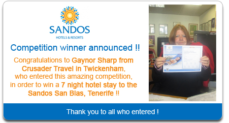 Sandos Competition Winner