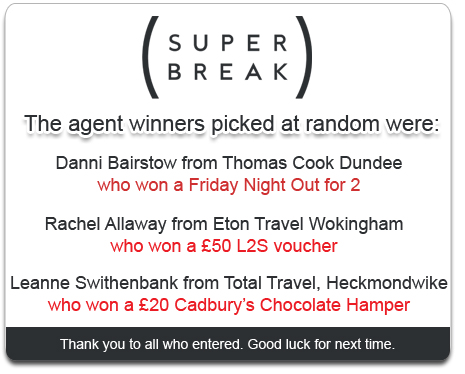 Super Break Competition Winner