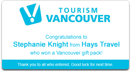Tourism vacouver TravelGym Winner