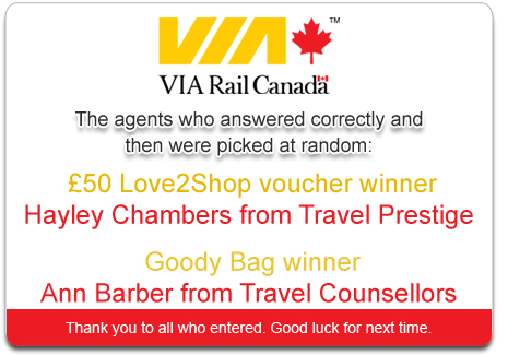 ViaRail Competition Winner
