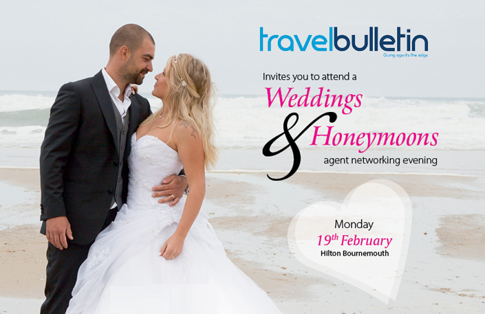 Weddings & Honeymoons Showcases - Monday, 19th February Bournemouth