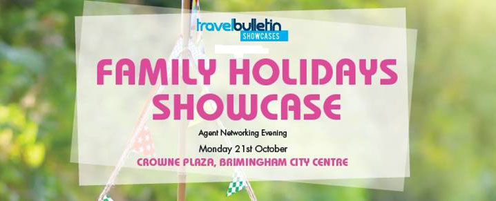 Family Holidays Showcase - Monday 21st October - Birmingham