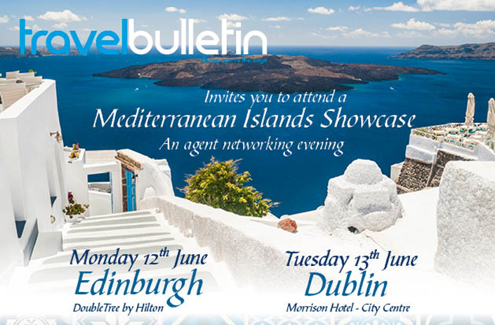 Mediterranean Islands Showcase - Tuesday 13th June Dublin
