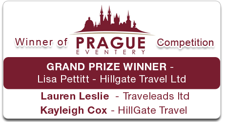 PragueEventery Competition Winner