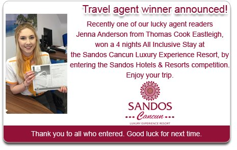 Sandos Cancun Competition Winner