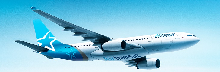 Win £20 cash voucher with Air Transat booking
