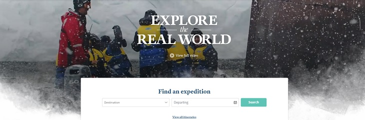 Aurora Expeditions new website
