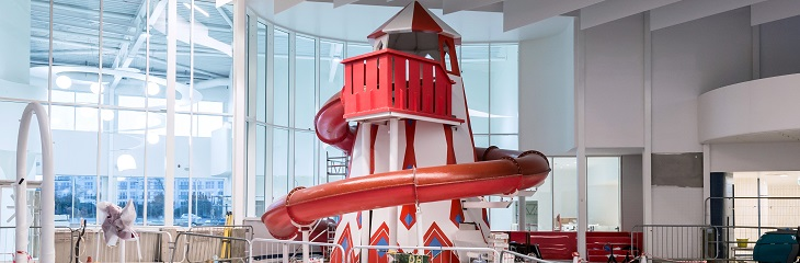 Butlin's introduces swimming pool Helter Skelter