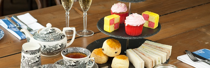 Enjoy champagne afternoon tea with Cox & Kings
