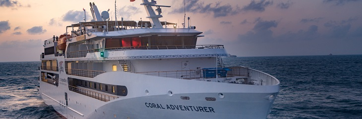 Coral Adventurer is ready to set sail with Aussie adventures