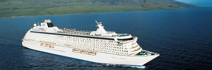 Earn £75 per booking with Crystal Cruises throughout February