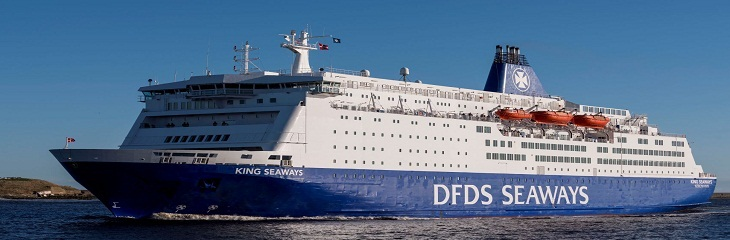 DFDS ferry service restarts from the Port of Tyne