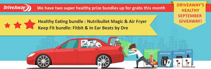 Prize bundles up for grabs with DriveAway