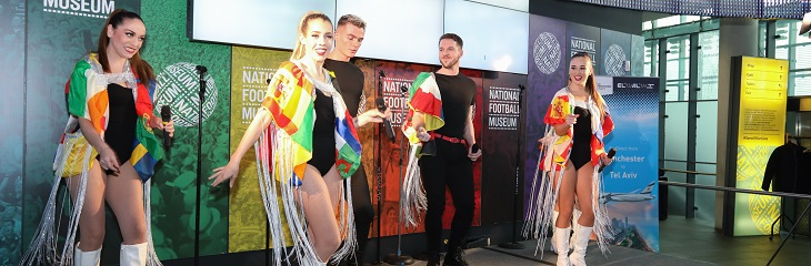 Travel agents enjoy El Al Eurovision themed launch party in Manchester