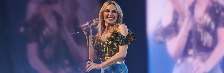 Gold Medal Dubai Sevens package Kylie Minogue