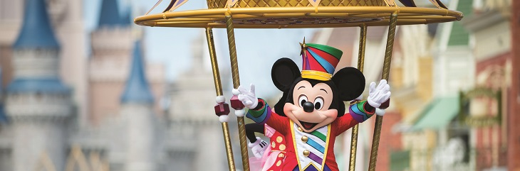 Win a magical trip to Walt Disney World Resort with Gold Medal