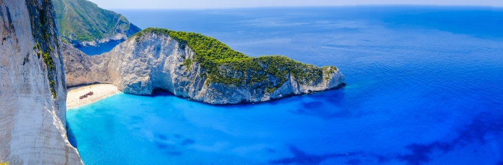 Greece island AdobeStock Zakynthos shipwrekc Calin Stan 116861726