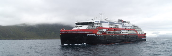 Hurtigruten's MS Roald Amundsen to be christened in Antarctica