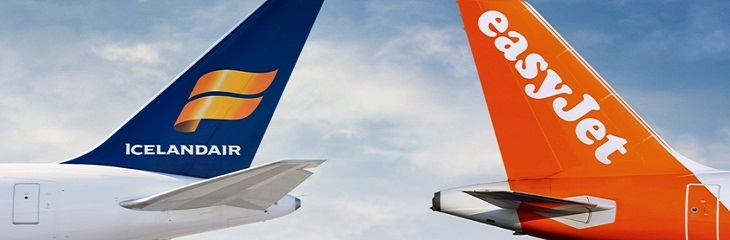 Icelandair and easyJet enter partnership to expand routes