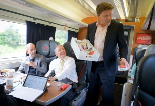 Virgin Trains' new executive chef James Martin serves up sweet surprise