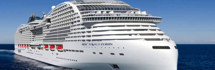 MSC World Europa reaches next build milestone