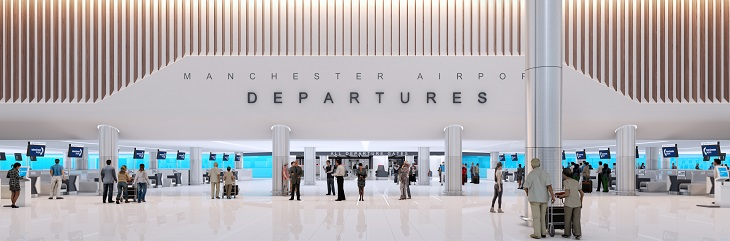Manchester Airport reveals progress made on £1bn transformation programme