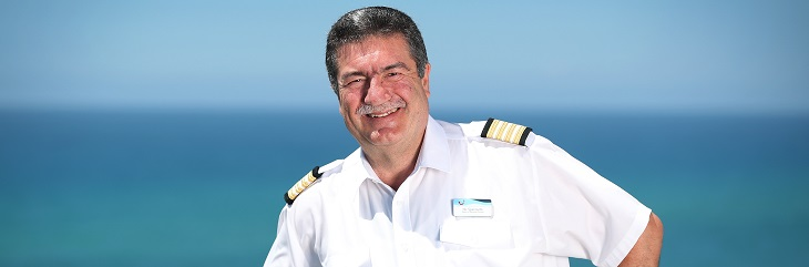 Marella Cruises appoints Nic Spanoudis its first head of nautical smiles