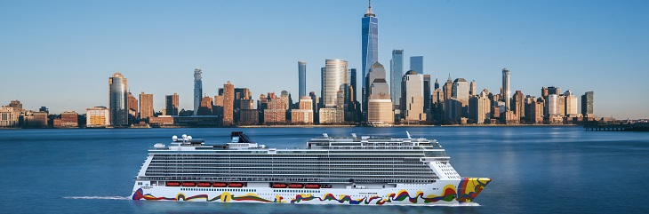 Win £50 of T2 Rewards with Travel 2 and Norwegian Cruise Line