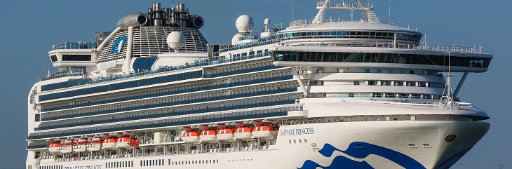 Princess Cruises redeploys Sapphire Princess to Australia