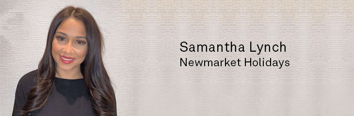 Samantha Lynch Newmarket Holidays
