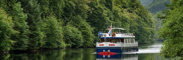 European Waterways' hotel barge cruise in Scotland and France begins this weekend