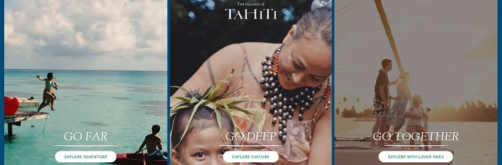 Tahiti Tourisme launches 'Pick Your Paradise' campaign