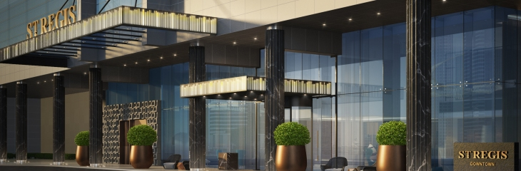The St. Regis Downtown Dubai Exterior Rendering